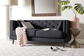 madison home tufted sofa madison home usa mid century modern tufted sofa reviews wayfair ca