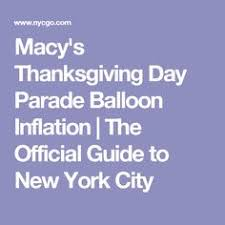 a map of the 2014 macy s thanksgiving day parade route courtesy of