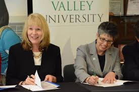 cecil college delval sign transfer agreement local news