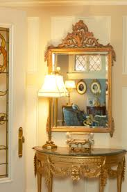 Mirror And Table For Foyer Classic Combination Console Table And Mirror From The Floors Up