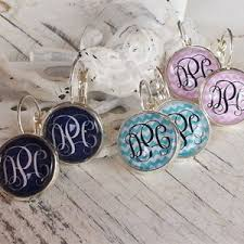 monogrammed earrings monogrammed earrings 10 with free shipping halfoffdeals