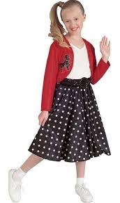 50s Halloween Costumes Poodle Skirts Kids 50s Costume Google 50s Costume