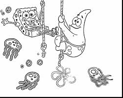fabulous coloring pages spongebob printable kids colouring with