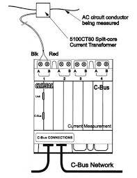 clipsal c bus energy monitor current measurement unit buy with nous