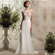 amsale wedding dresses for sale amsale wedding gown tulle neck back appliqued see through