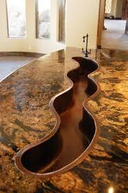 Kitchen Island Sink Ideas by Best Custom Kitchen Sinks Gallery Decorating Home Design