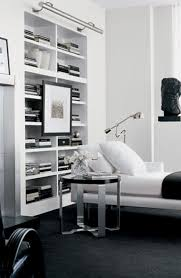 ralph home interiors ralph home pairs minimalist decor with a sleek bookcase and