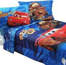 Cars Bedroom Set Toddler Amazon Com 5pc Disney Cars Full Bedding Set Lightning Mcqueen