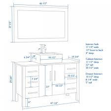 Mirror Height Bathroom Standard Height For Bathroom Mirror Vanity Cabinet Height 2414
