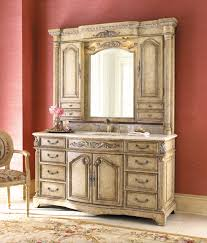 remarkable antique bathroom vanities with hutch including bathroom