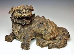 shishi statue foo dog shishi chien de foo porcelain n 1 collection on ebay