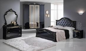 High Gloss Bedroom Furniture Stylish Black Italian High Gloss Bedroom Furniture Homegenies