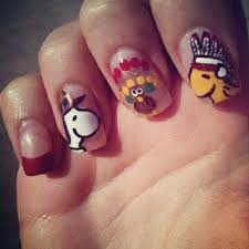 201 best thanksgiving nail images on thanksgiving