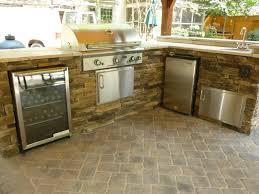 Best Outdoor Kitchen Best Outdoor Kitchen Refrigerator And Countertop Idea Elegant