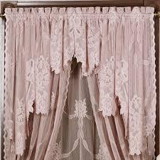 garland lace window treatment