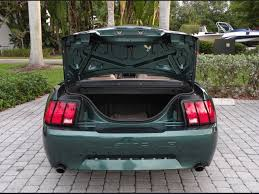mustang trunk space 2000 ford mustang gt convertible ft myers fl for sale in fort