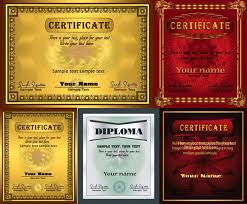 certificate templates my free photoshop world