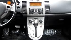 nissan sentra interior 2009 2007 nissan sentra ser solar yellow stock j18444a interior