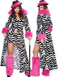 Halloween Costumes Zebra Furry Costumes Size Women Size Zebra Female Pimp