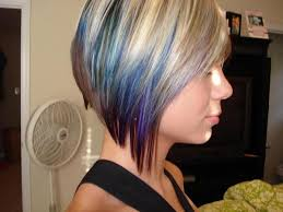 short hairstyles with peekaboo purple layer google image result for http a1 ec images myspacecdn com
