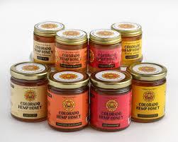 colorado hemp honey 6oz jar ginger snap kultureva
