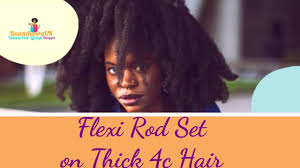 flexi rod stretch long 4b c hair flexi rod set on 4c hair style old stretched out natural hair