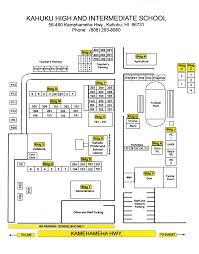 Washington And Lee Campus Map by Kahuku High And Intermediate