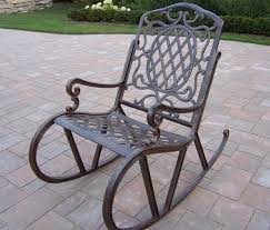 garden rocking chair stylish pleasure in outdoor application