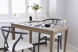 Kid Friendly Dining Chairs by Friday Family Friendly Find Oomph Backgammon Table U2013 Interiors