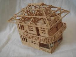 house made out of matchsticks match u0026 toothpicks pinterest