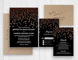 polka dot wedding invitations gold polka dots wedding invitations rsvp details menu card