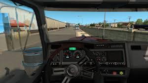 parts kenworth kenworth w900 interior exterior rework american truck simulator