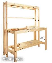 Bench Construction Plans How To Build A Diy Workbench Super Simple 50 Bench Family Handyman