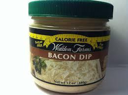crazy food dude review walden farms bacon dip