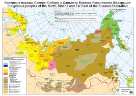 Russia Map Indigenous Peoples U0027 Distribution Map