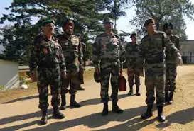 list of assam rifles director general assam rifles visits haflong garrisson assam times