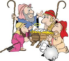 baby jesus and the shepard clipart collection