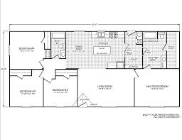 Fleetwood Manufactured Homes Floor Plans Eagle 28604s Fleetwood Homes