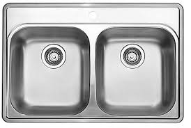 Blanco Stainless Steel Topmount Kitchen Sink Hole The Home - Home depot kitchen sink