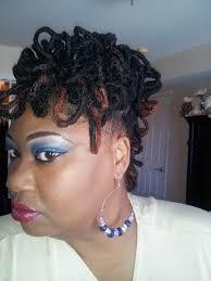 locs hairstyle of the week u2013 loc petal fro on short locs diy
