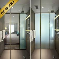 Smart Glass Shower Door Smart Glass Switchable Glass Intelligent Glass Pdlc Glass China