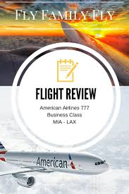 flight review american airlines business class mia lax u2013 fly