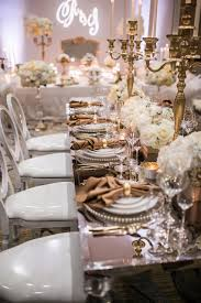 Mirror Dining Table by Baker Party Rentals Metropolitan Mirror Dining Table Rentals