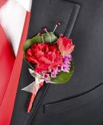 corsage and boutonniere for homecoming prom flowers cherry flower shop southton pa