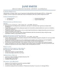 employment resume template on campus student employment resume