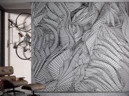 optical vinyl wallpaper whisp by glamora design karim rashid