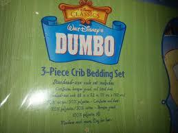 Dumbo Crib Bedding Dumbo Circus Baby Blanket Crib Comforter Walt Disney Vintage Ebay