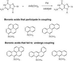 by p d of pah c 8 guanine adducts by pd catalyzed coupling