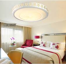 ceiling light flat round fashion led ceiling lights modern minimalist acrylic crystal flat