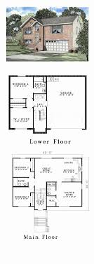 split level floor plans large split level house plans lovely baby nursery front to back